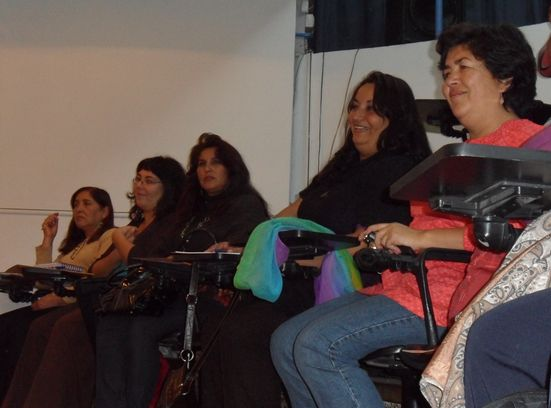 Mujeres participantes