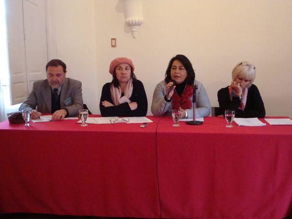 Julio Alegría, Olga Segovia, Veronica Dos Anjos y Beatriz Lorenzo